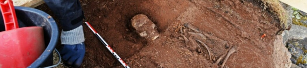 Arkeologer i felt