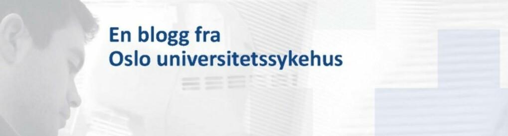 Forskningssykehuset - en blogg fra Oslo universitetssykehus