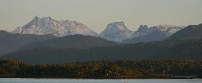Hvordan er fjellene våre dannet? (Foto: Ane K. Engvik)