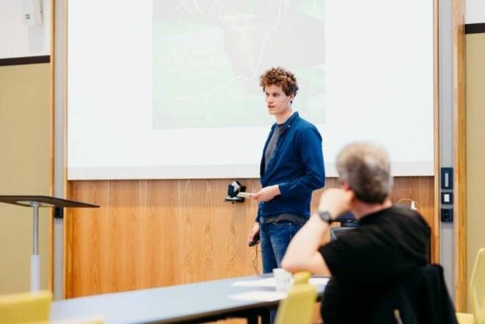 Deltagerne i Forsker Grand Prix får tett oppfølging gjennom flere måneder i forkant av showet med profesjonell opplæring i formidlingsteknikker som vil være nyttige i karrieren fremover. (Foto: Julie Gloppen Solem, NTNU)
