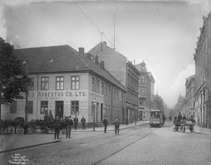 Tollbugata 4, også kalt Thomsegården (Eier: Oslo museum)