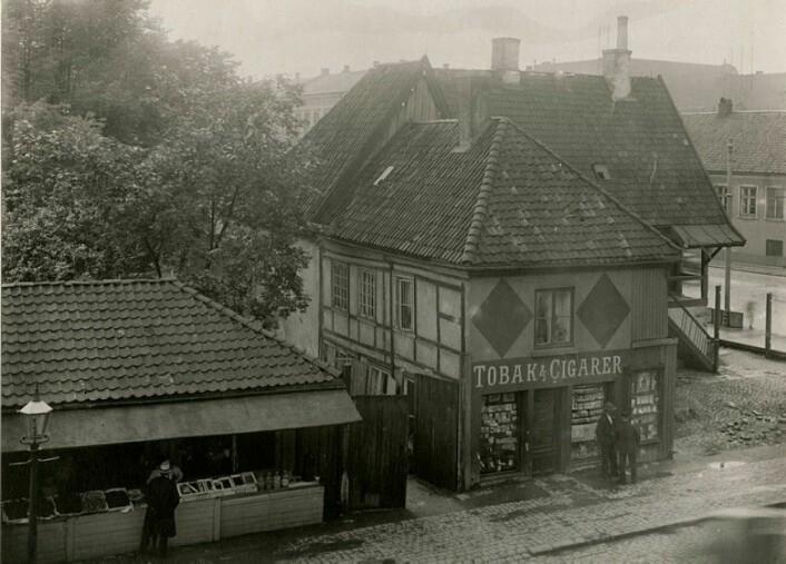 Meyergården i Strandgata. Eier: Oslo museum
