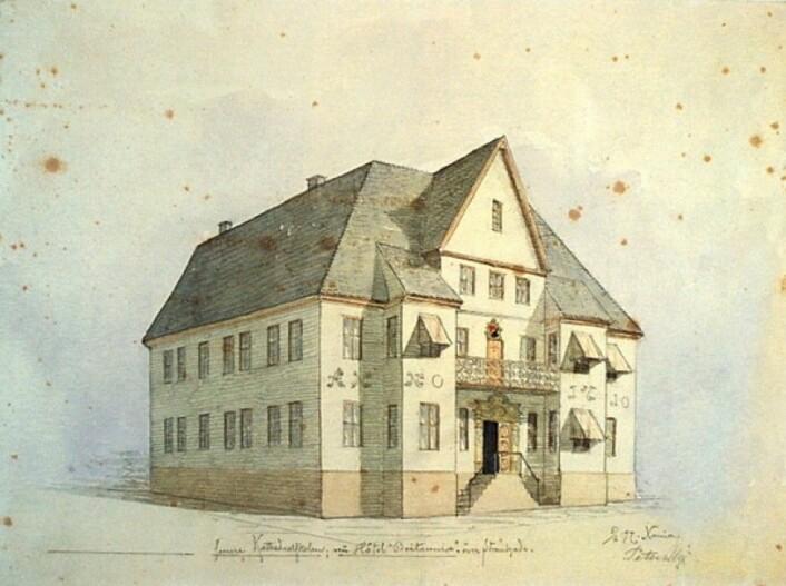 Fred. Olsens gate 2. eier: Oslo museum