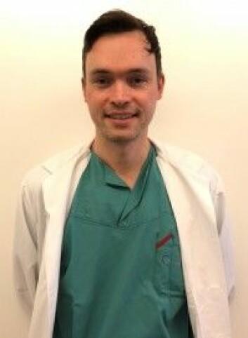 <em>Johan Steineger, spesialist i øre, neseog hals, OUS. Universitetslektor og PhD-kandidat, UiO. Foto: OUS. </em>