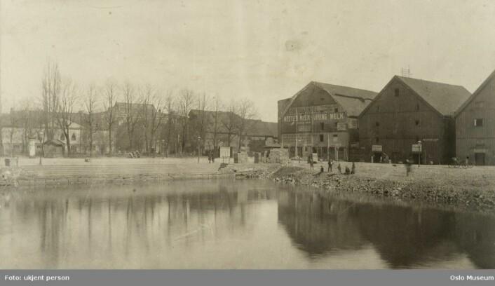 Salmakerhølet på midten av 1800-tallet (Eier: Oslo museum)