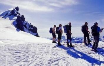Topptur-trenden bidrar til mer bærekraftig helårsturisme, men byr også på en del utfordringer. Foto: Anders Gjengedal - Visitnorway.com