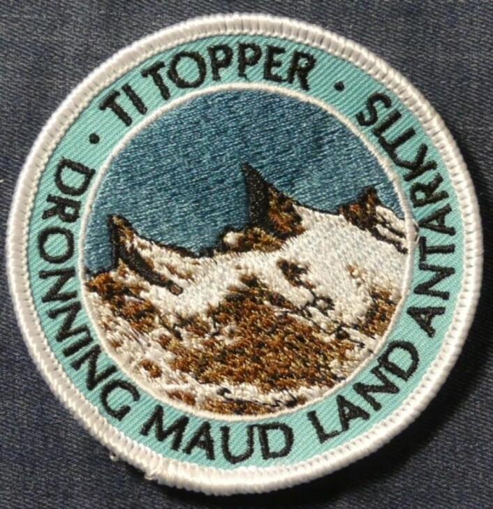 Ti topper i Dronning Maud Land.(Foto: Ane K. Engvik)