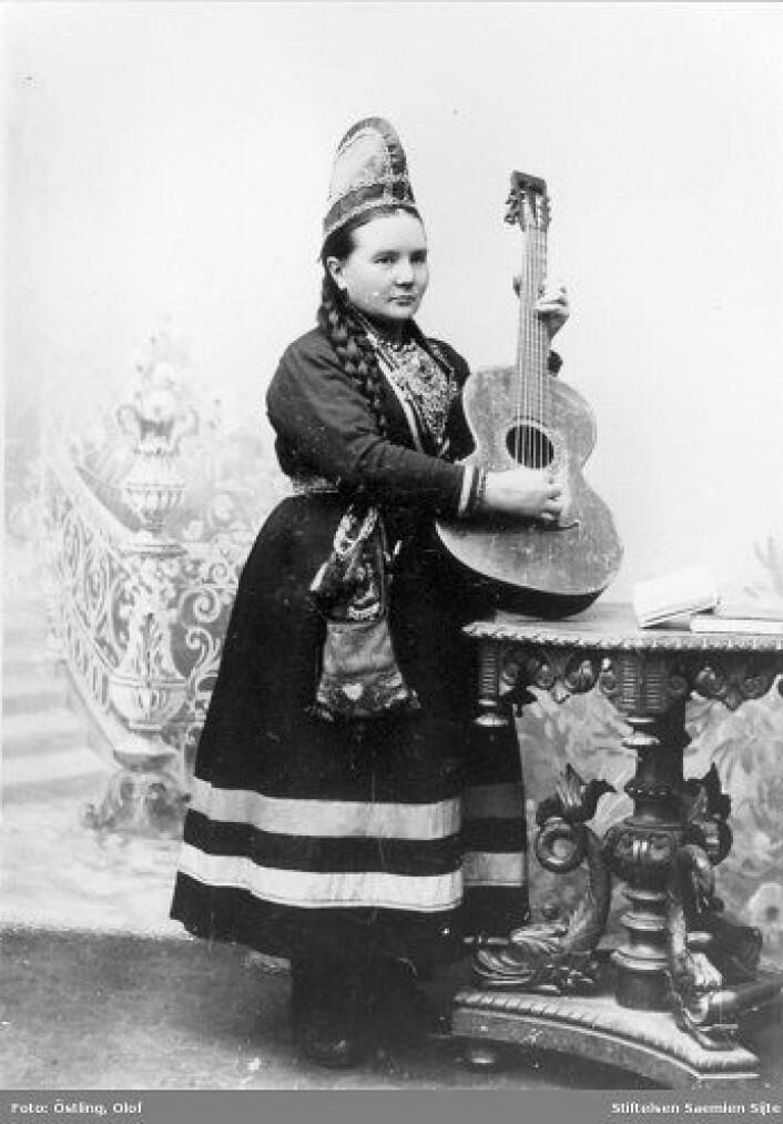 Marie Stengel (1851-1927) Foto: Olof Östling/ Stiftelsen Saemien Sïjte