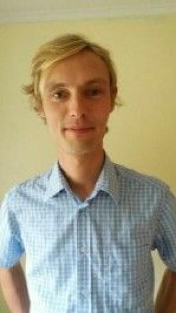 <em>Lars Christian Bråten, lege og stipendiat, OUS. (Foto: OUS)</em>