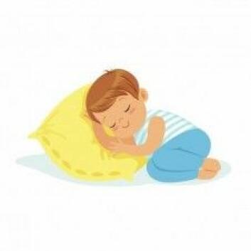 <em>Bárdni oađđá</em> (Gutten sover) og <em>Bárdni ii oađe</em> (Gutten sover ikke). (Illustrasjonsfoto: Colourbox)