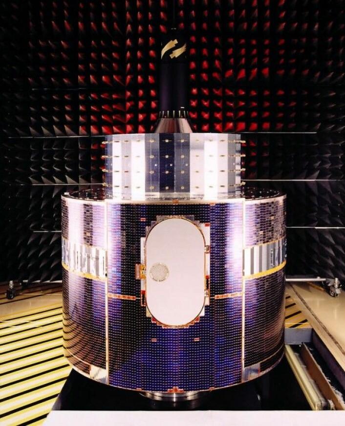 Meteosat-1, den første europeiske værsatellitten. ESA