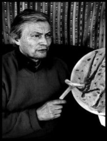 Sjaman Ailo Gaup (1944-2014) – den fyrste samiske sjaman i Noreg. (Foto: Linda Bournane Engelberth).