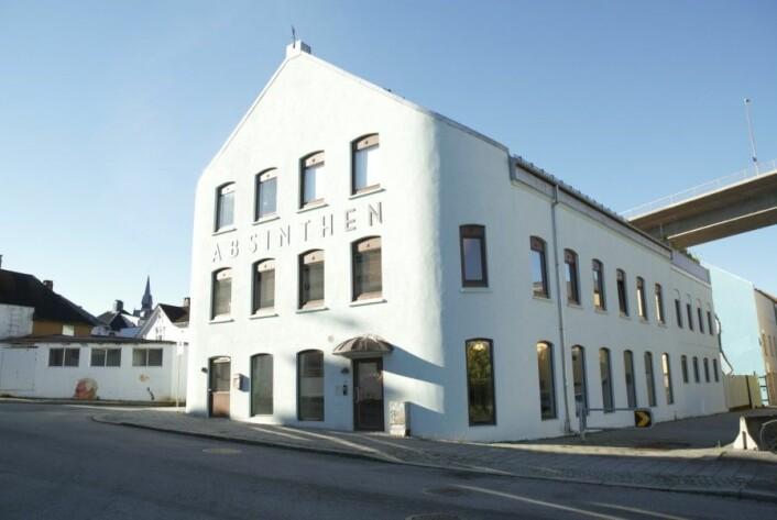 Kontorfellesskapet Absinthen var en gang Cape Canning Co. Cape var en av Stavangers mest effektive hermetikkfabrikker. Foto: MUST/ Norsk hermetikkmuseum