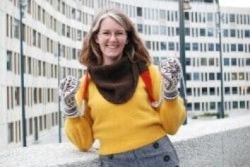 Kathrine Frey Frøslie. (Foto: Lene M. Linnerud)