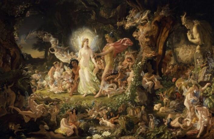 Maleri av Paton. (Foto: Wikipedia)