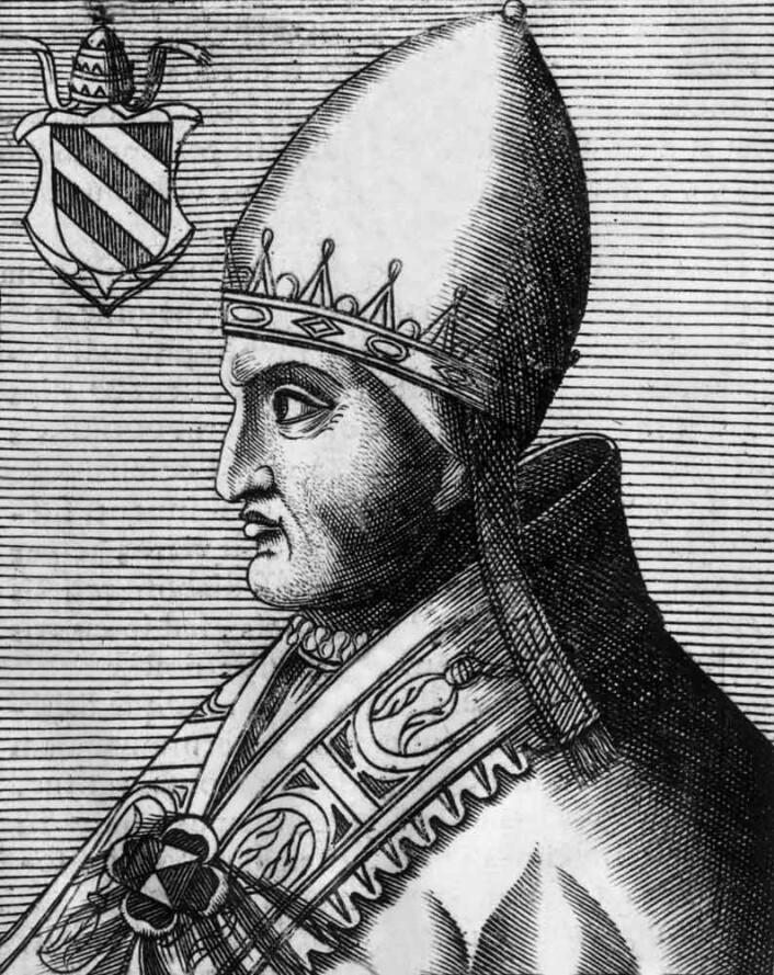 "Pave Innocens IIII. Bilde hentet fra <a href=""https://alchetron.com/Pope-Innocent-IV-806812-W"">https://alchetron.com/Pope-Innocent-IV-806812-W</a>"
