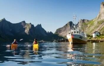 Kano og kajakk er blant de vanligste norske naturbaserte aktivitetene. (Foto: CH-VisitNorway)