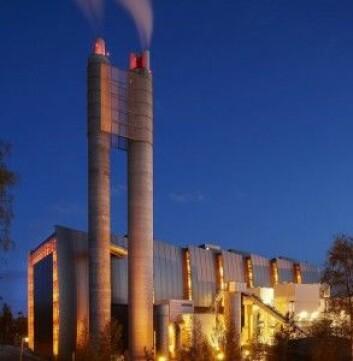 Avfallsforbrenningsanlegget på Klemetsrud. Her er det realistisk med fangst av 400.000 tonn CO2 per år ifølge Gassnova. Et nytt norsk eventyr som kunne egnet seg på en norsk sjokolade. (Foto: Energigjenvinningsetaten)