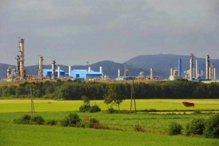 Kårstø prosessanlegg i Nord-Rogaland har en nøkkelrolle når det gjelder transport og behandling av gass og kondensat fra sentrale områder på norsk sokkel. (Foto: Gassco)