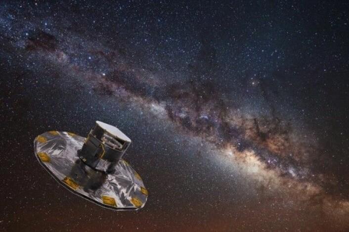 ESAs romteleskop Gaia skal kartlegge over 1 milliard stjerner for å forske på stjerner, galakser og exoplaneter. ESA
