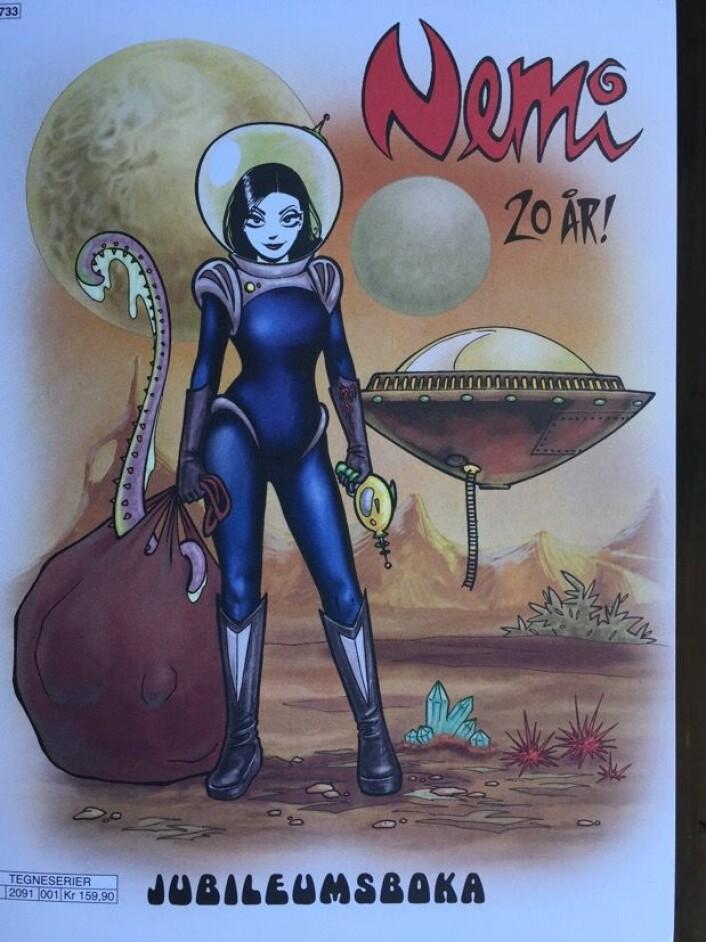 Nemi, nå også som astronaut! (Omslagsbilde, EGMONT Publishing)