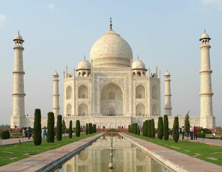 Taj Mahal. (Foto: Colourbox)