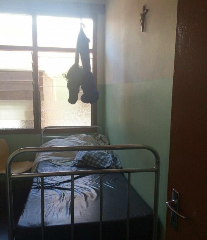 Fra det katolske sykehuset.(Foto: Katerini T. Storeng)