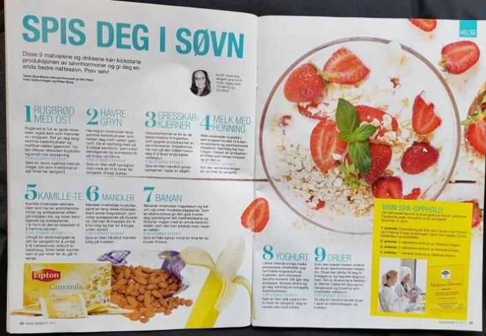 I denne artikkelen fra Norsk Ukeblad får du servert råd som ikke virker.