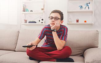Gutter sitter stille 40 minutter mer enn før