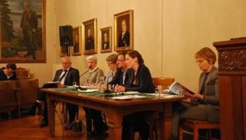 Det Norske Videnskaps-Akademis forskningsetiske utvalg arrangerte møtet når er forskning uredelig? den 12. mars 2018. (Foto: Gro Havelin/Det norske videnskaps-Akademi)