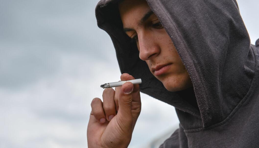 I tredje klasse på videregående har 38 prosent av guttene og 23 prosent av jentene prøvd cannabis. Samme tall for 2015 var 30 og 20 prosent.  (Illustrasjonsfoto: Shutterstock / NTB Scanpix)
