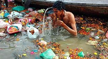 90 prosent av all plast som renner ut i havet kommer fra 10 elver