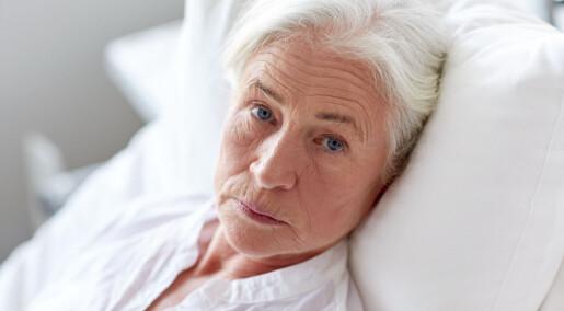 De eldste krever minst av sykehusene før de dør