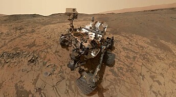Mars-rover finner organiske molekyler på den røde planeten