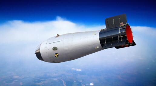 100 atombomber er nok, ifølge forskere