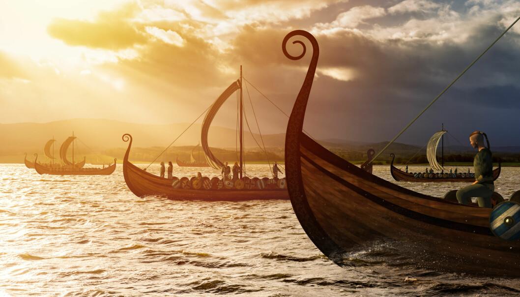 Det var skip lenge før vikingtiden begynte. Likevel får et bilde som dette oss med det samme til å tenke på nettopp denne tiden i Skandinavias historie.  (Foto: vlastas / Shutterstock / NTB scanpix)