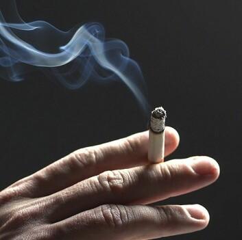 Blant menn er det 10 prosent som røyker av og til. Blant kvinner er det 6 prosent. (Foto: Colourbox)