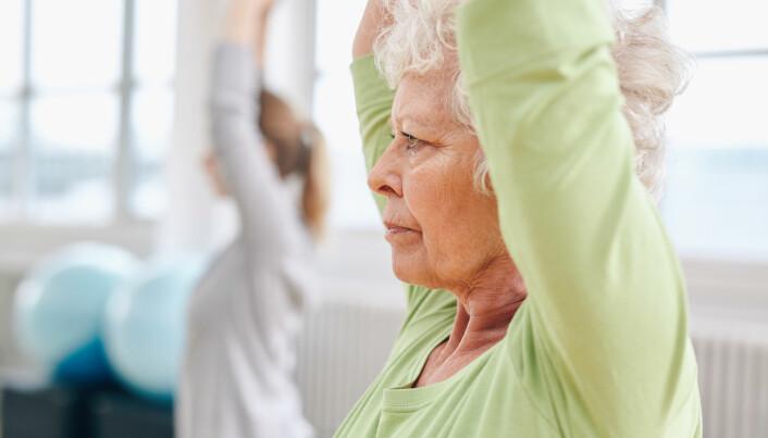 Fysisk aktivitet beskytter mot demens – særlig for de som sliter psykisk