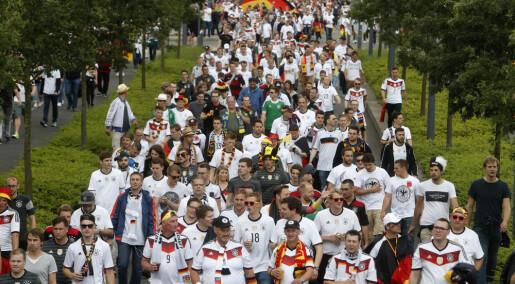 Nett-TV: Fotball-VM: Økt polarisering blant tyske fotballfans