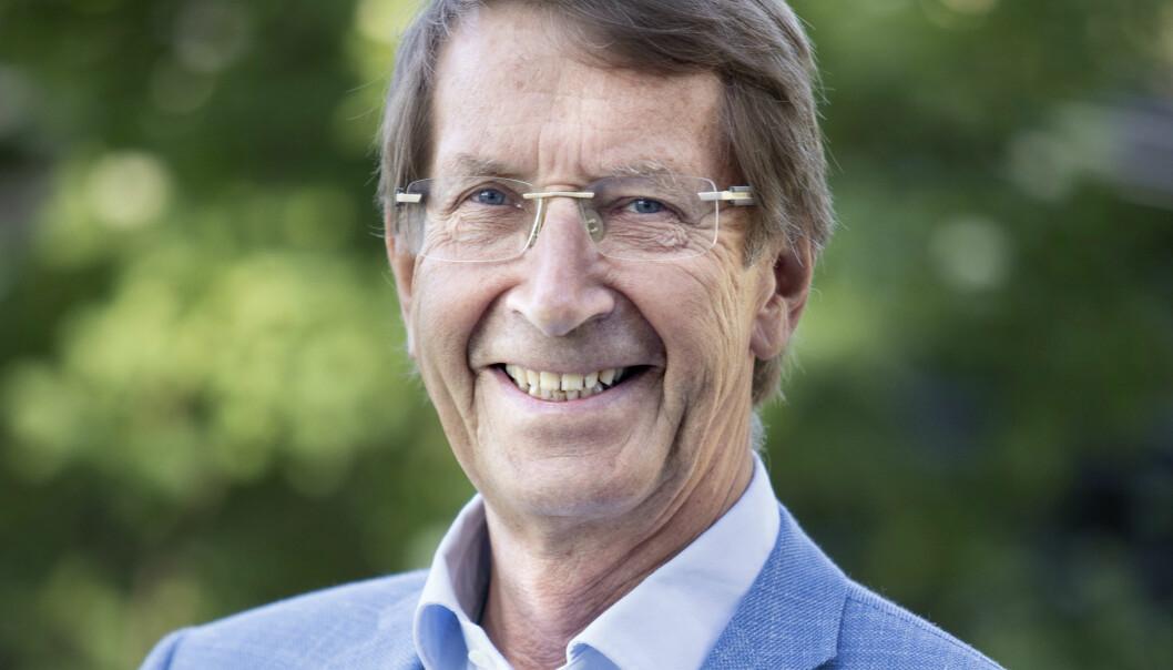 Stein Evensen er nyvalgt leder i Nasjonalforeningen for folkehelsen. (Foto: Anne Elisabeth Næss)
