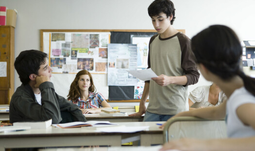Faglærarar har også ansvar for leseopplæringa i videregåande skule