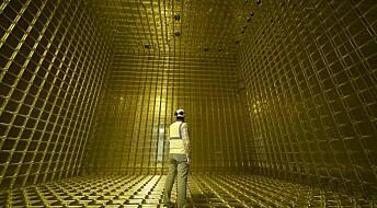 Gigantisk detektor skal avsløre materiens gåte