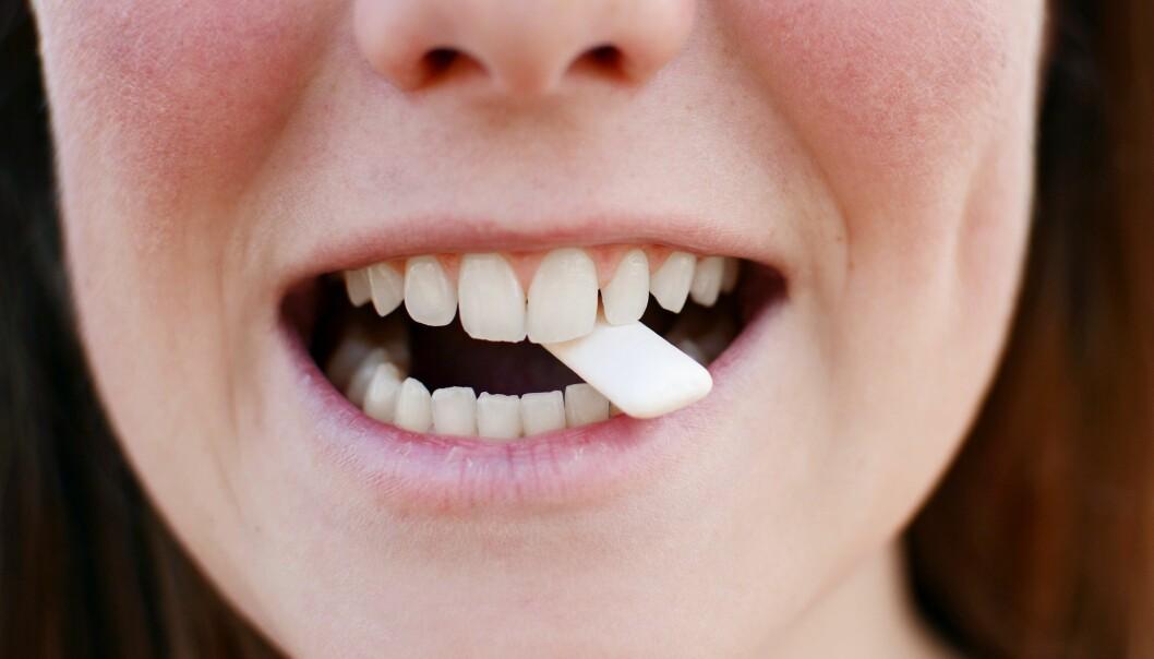 En tyggegummi kan gjøre treningsøkten mer intens, i hvert fall ifølge en bitteliten japansk studie.  (Foto: alenacepl, Shutterstock, NTB scanpix)