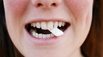 Japanske forskere fikk folk til å tygge tyggegummi mens de gikk