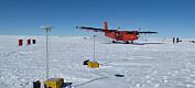Har kartlagt terrenget under isbreer i Antarktis