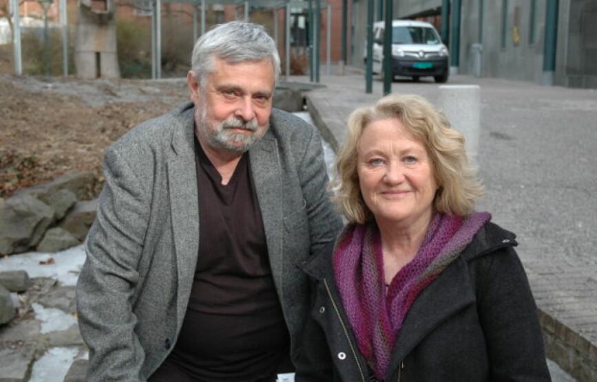 Arkitekt Birger Dahl og førstelektor Randi Evenstad har sett mange detaljer som kan bedre barns medvirkning i barnehagen.