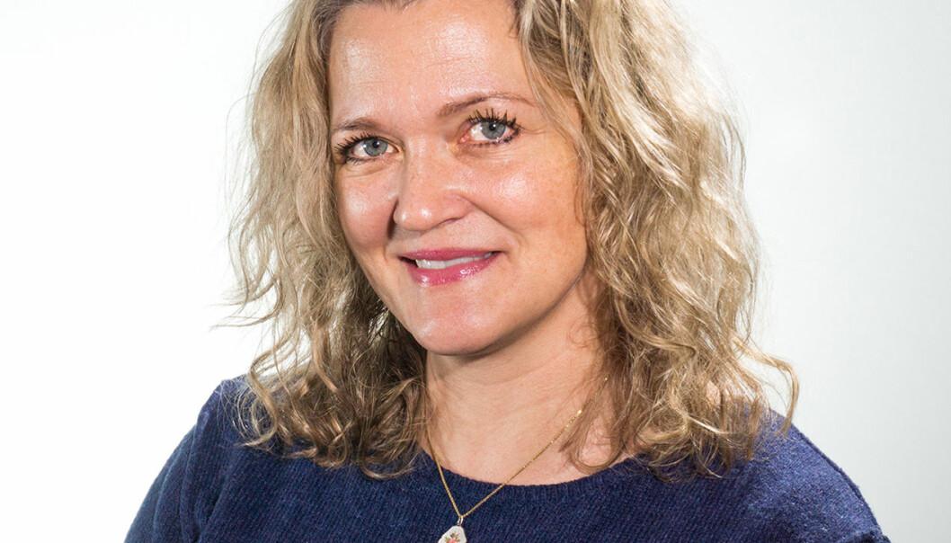 Universitetslektor Liv Iren Grandemo er ny studieleder ved grunnskolelærerutdanningen ved Nord universitet i Levanger. (Foto: Roger Grostad)