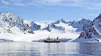 Tokt på Svalbard for å styrke samarbeid om Arktis