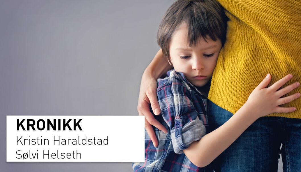 - Vi vet mye om sykdom og fysisk helse hos barn og ungdom, men vi har ikke gode data på hvordan barn og ungdom faktisk har det, skriver kronikkforfatterne. (Foto: Shutterstock / NTB scanpix)