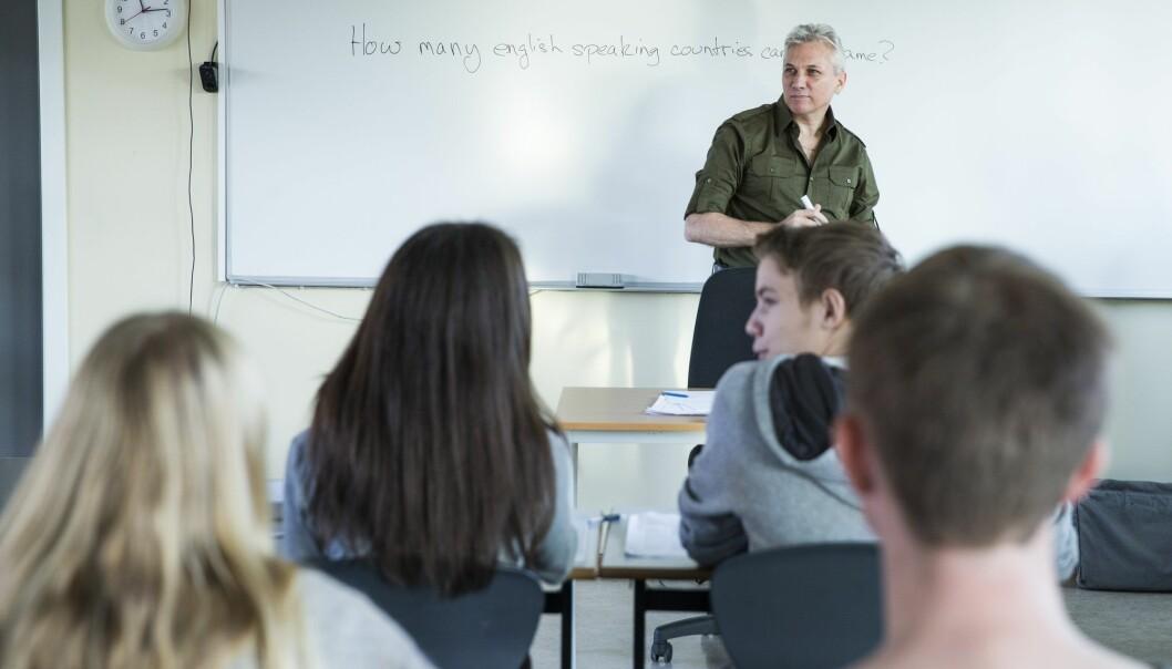 Norske ungdommers språk er fullt av engelske ord og uttrykk. Mange leser og forstår engelsk bedre enn norsk. (Foto: Berit Roald, NTB scanpix)